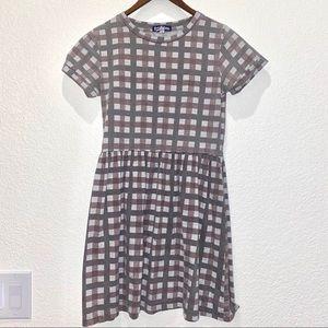 Freshman 1996 Gingham Shortsleeved Dress
